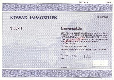 Nowak Aktie