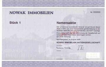 Aktie Nowak Klein