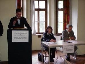 Immobilienauktion Armin Nowak Ursula Hölzl und Notar Dr. Hermann Amann