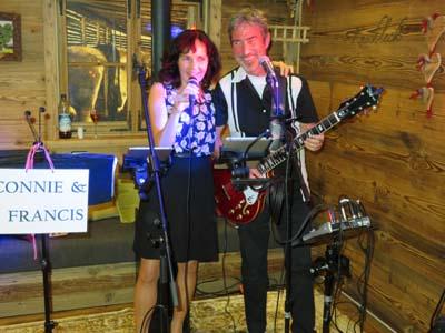 Connie und Francis Gesangsduo mit Ursula Hölzl und Wolfgang Hollinger