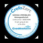 CrefoZert Auszeichnung von Creditreform
